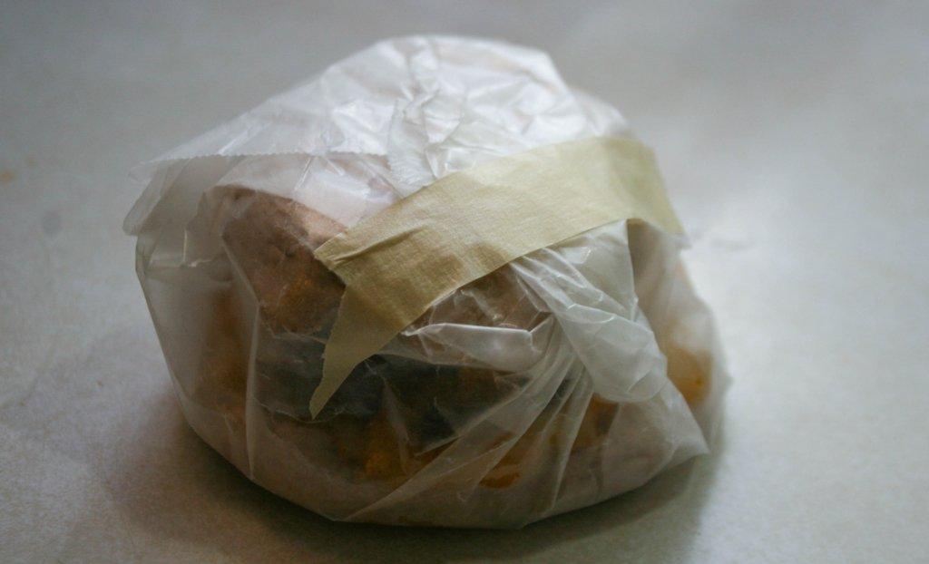 wrapped sandwich