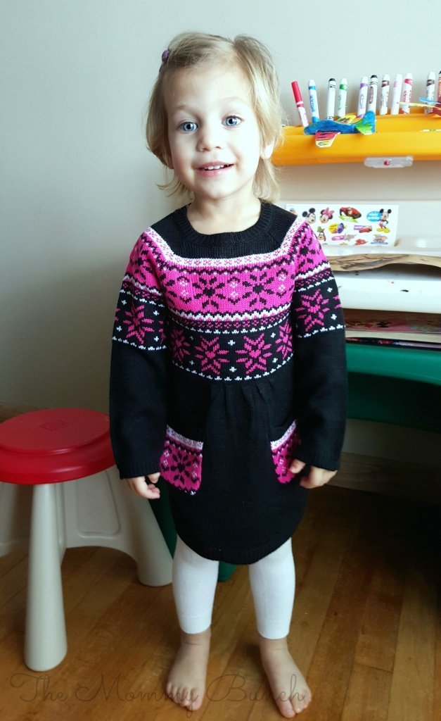 healthtex sweater dress toddler1