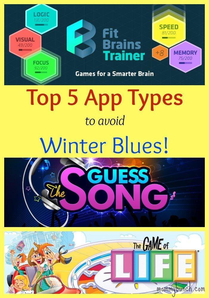 top apps avoid winter blues