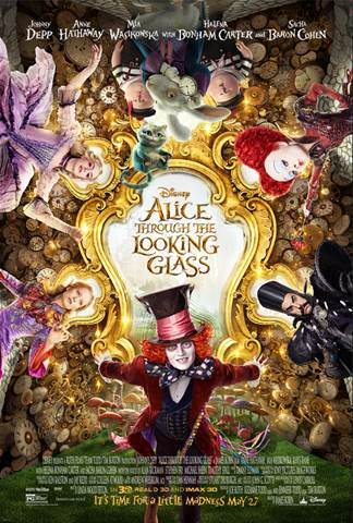 alice through the looking glass pink