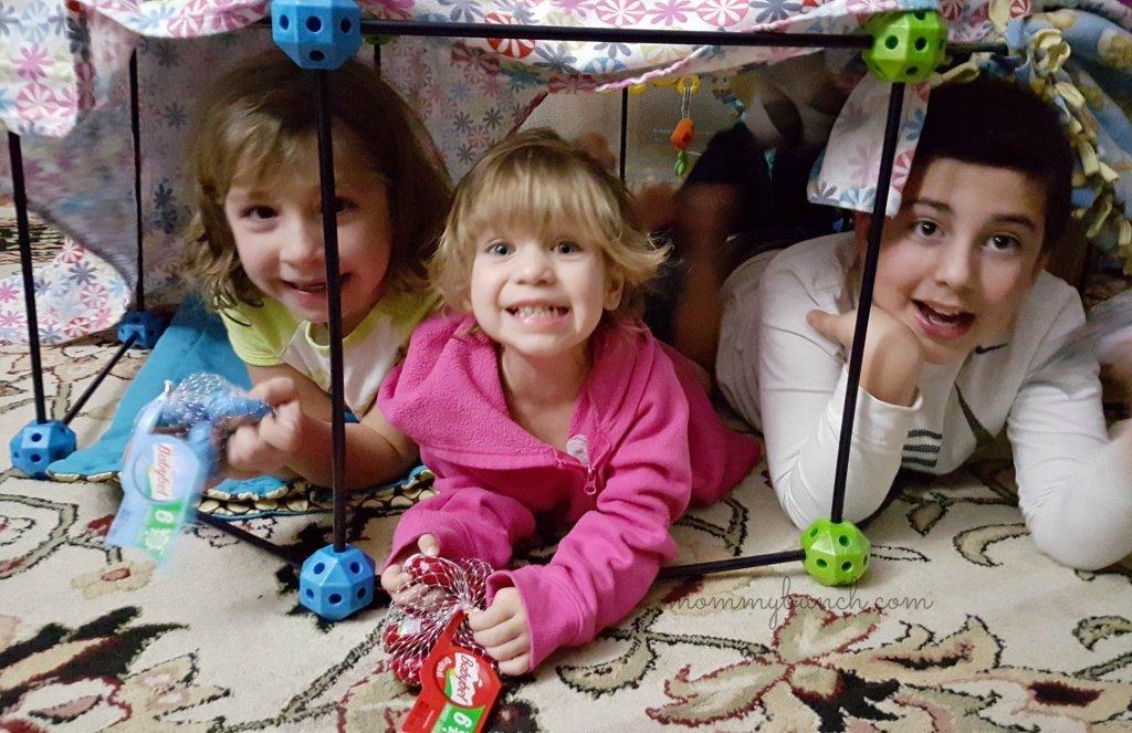 indoor kids fort