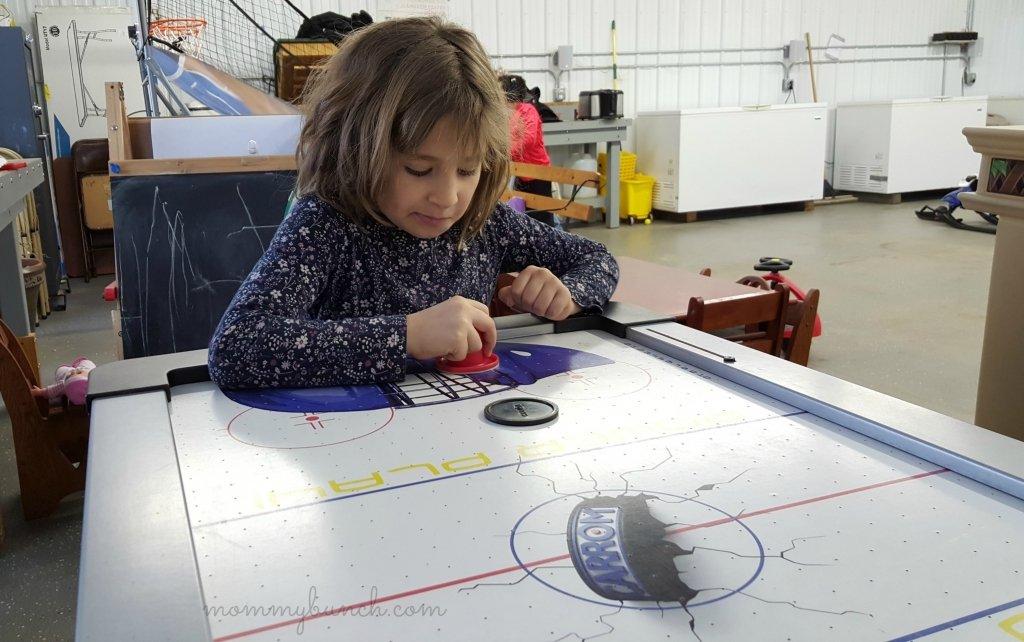 tabletop air hockey indoor games list