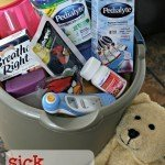 Sick Bucket Illness Kit