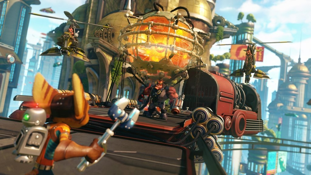 ratchet & clank video game