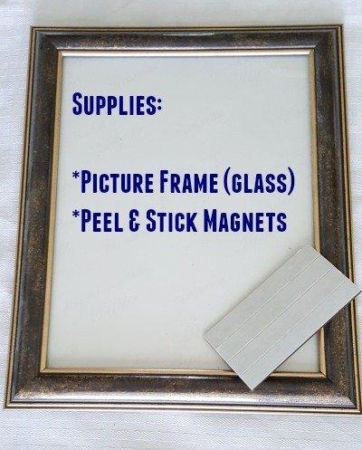 DIY Dry Erase Board Supplies