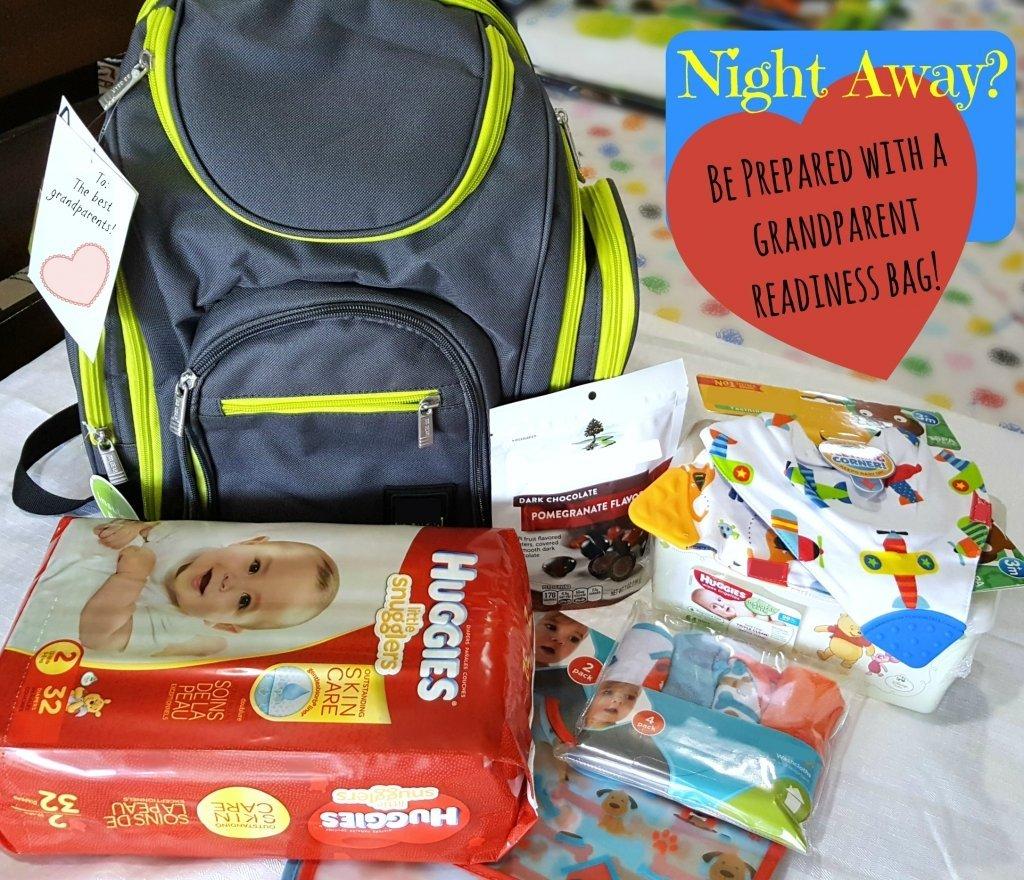 baby overnight bag grandparent