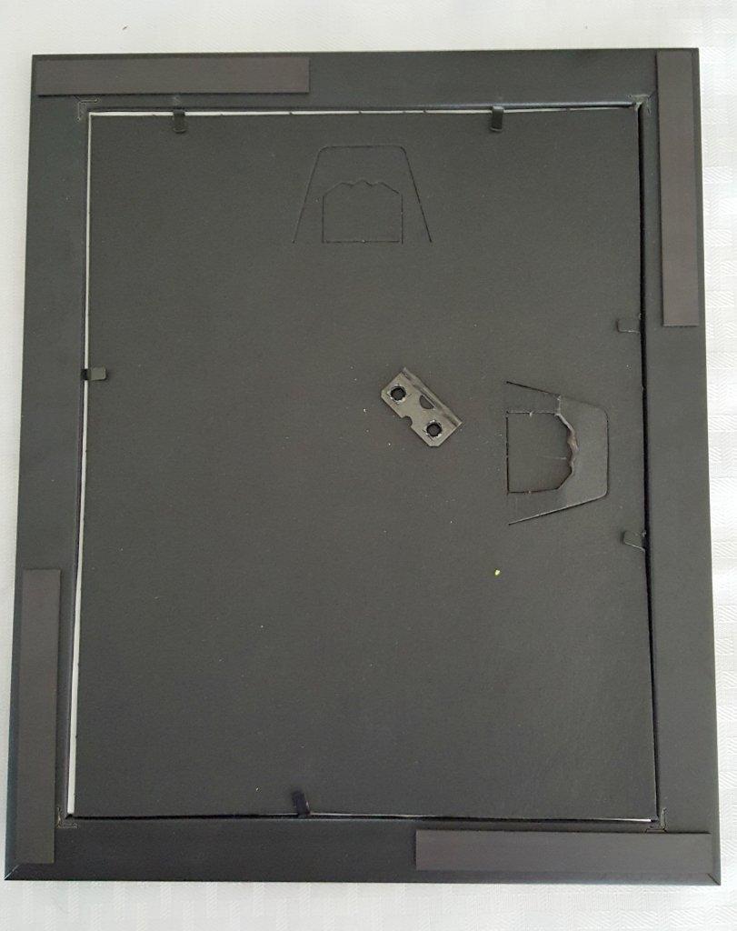 diy dry erase back picture frame