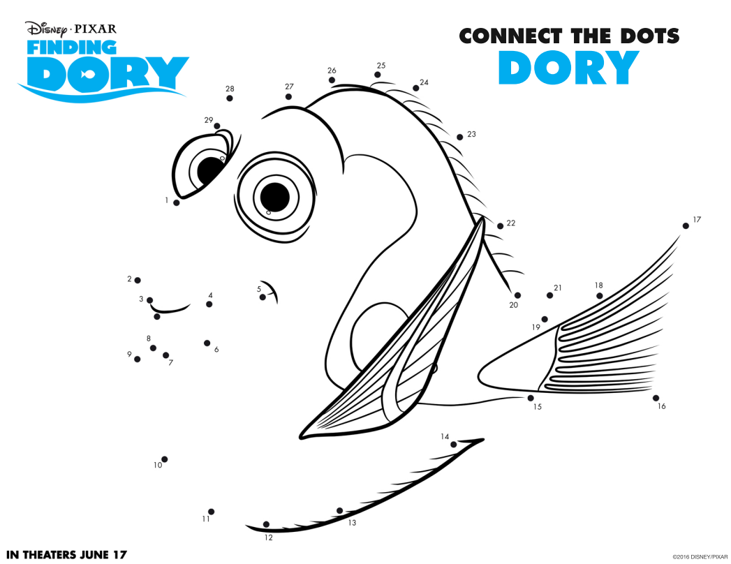 finding dory connect dots