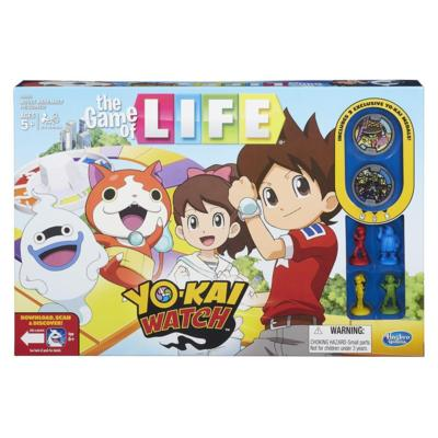 yo-kai watch game of life latest and greatest toys