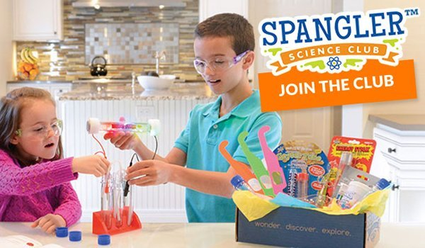 Fun Science Experiements Every Month Spangler Science Club homeschool