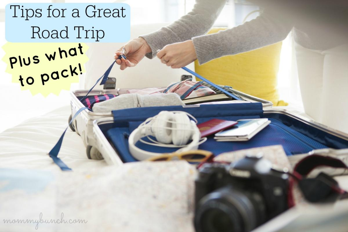 tips for road trips what to pack