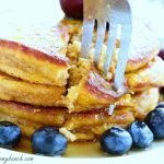 Extra fluffy pancakes with quinoa