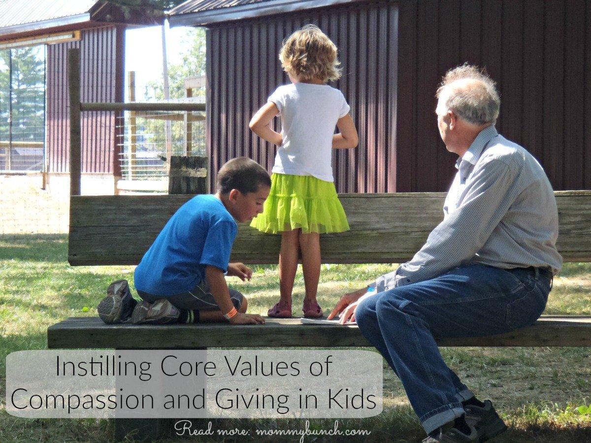 compassion in kids elderly family caregiver