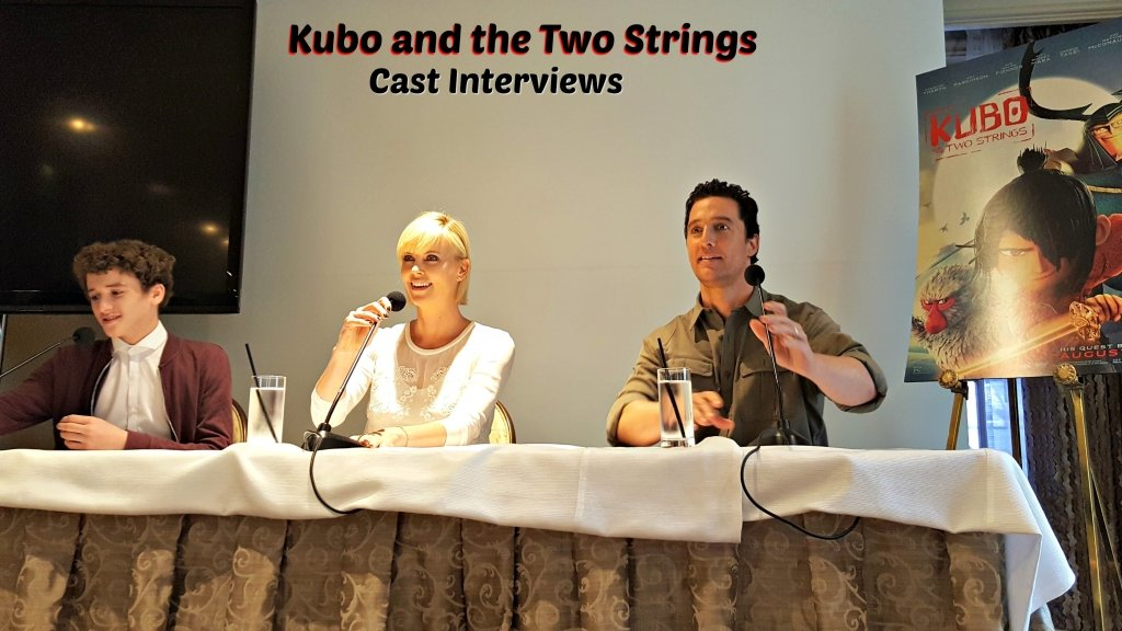 kubo and the two strings interviews with cast