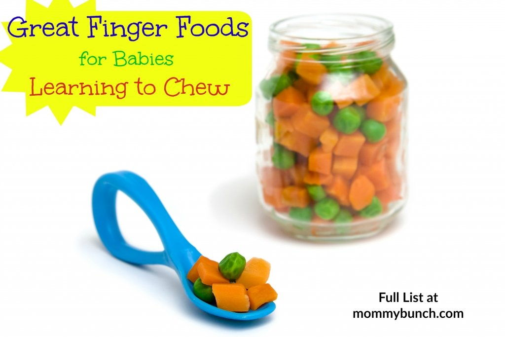 Great Finger Food for Teething Babies