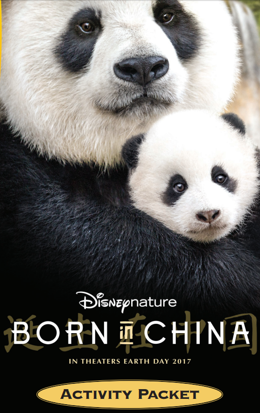 DisneyNature's Born In China Activity Packet