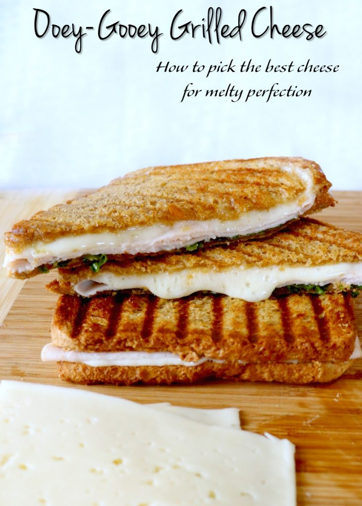 best cheese for grilled cheese