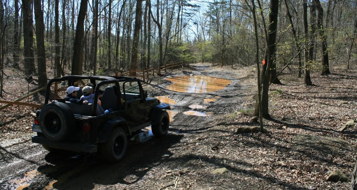 Off-Road Jeep Trails in North Carolina
