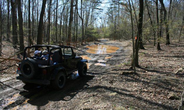 Off-Road Jeep Trails in North Carolina
