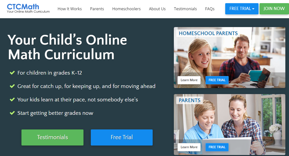 CTC Math Homeschool Curriculum {Review}