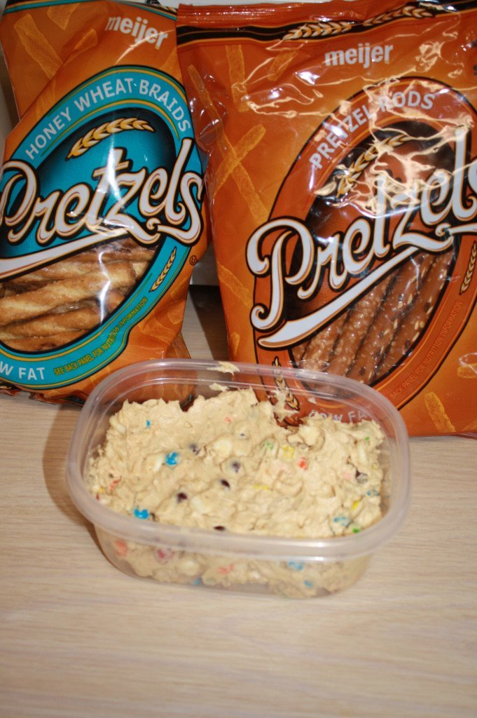 Scare Up A Good Time And Enjoy A Fun Treat With Monster Cookie Dough Dip!
