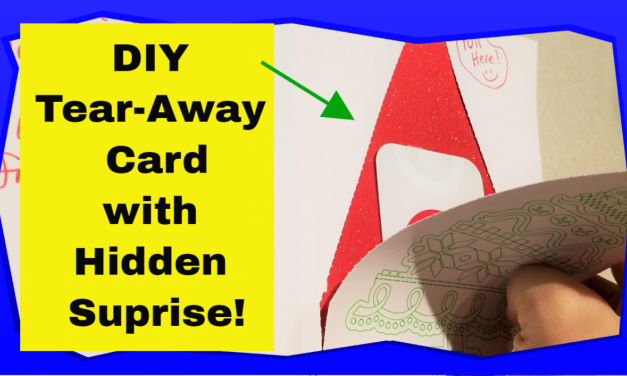 How To Make A Perforated Hidden Surprise Card With Your Cricut Maker