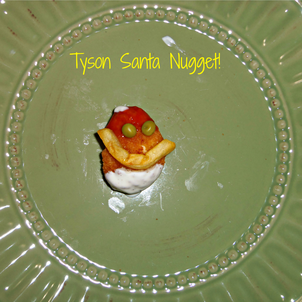 Who says playing with your food isn't allowed? Making meal time fun with Tyson nuggets! #MealsTogether  #cbias