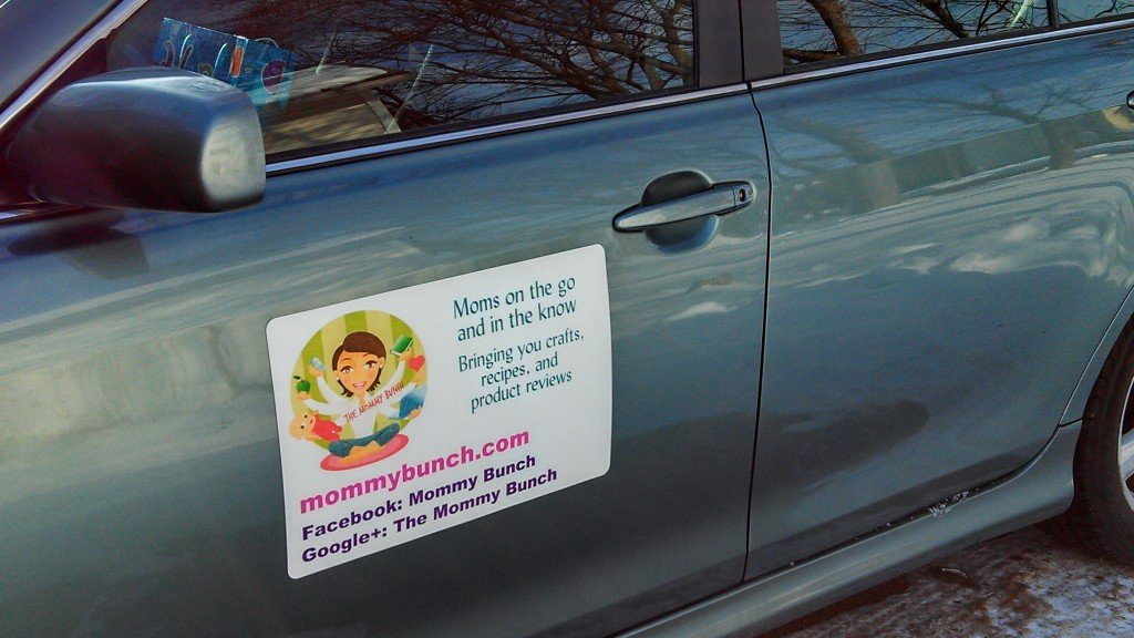 The Mommy Bunch hits the road with magnets on the cheap!