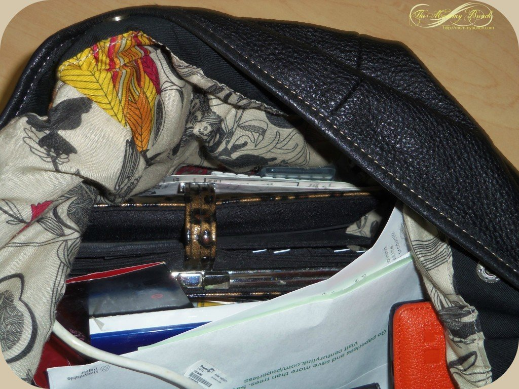unorganized purse