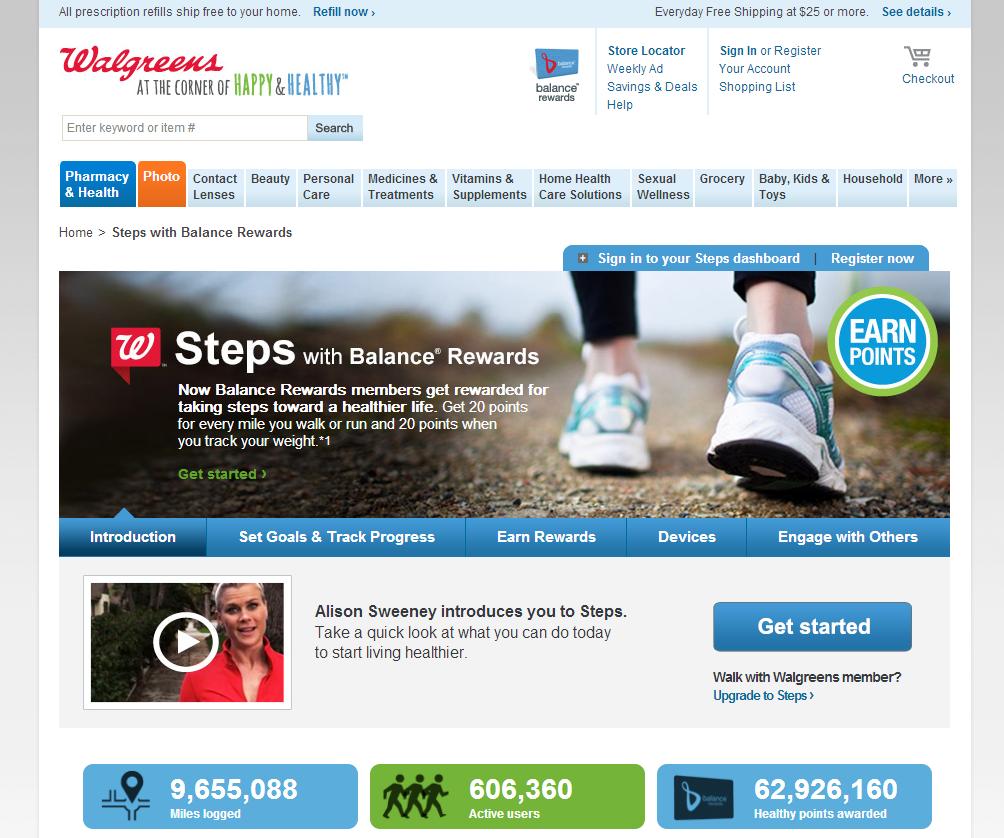 Walgreens Steps