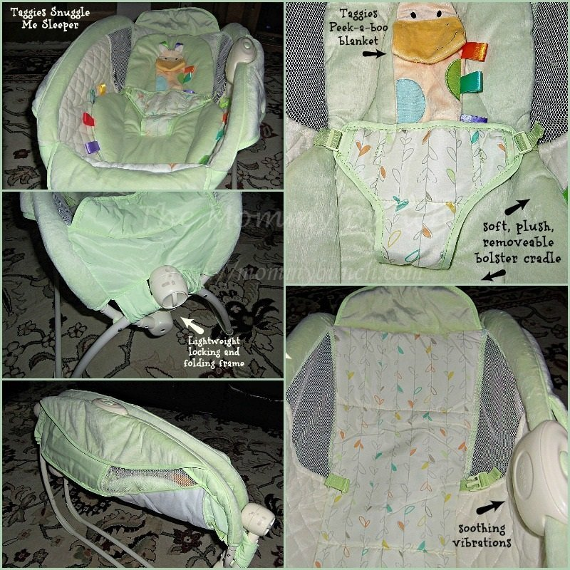 Perfect sleeper for a newborn – Taggies Snuggle Me Sleeper