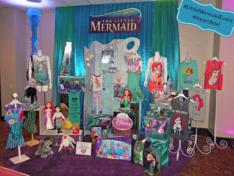 little mermaid products