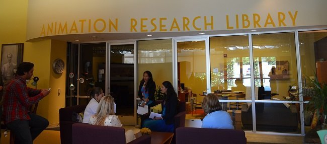 animation research library