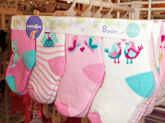 babies r us socks