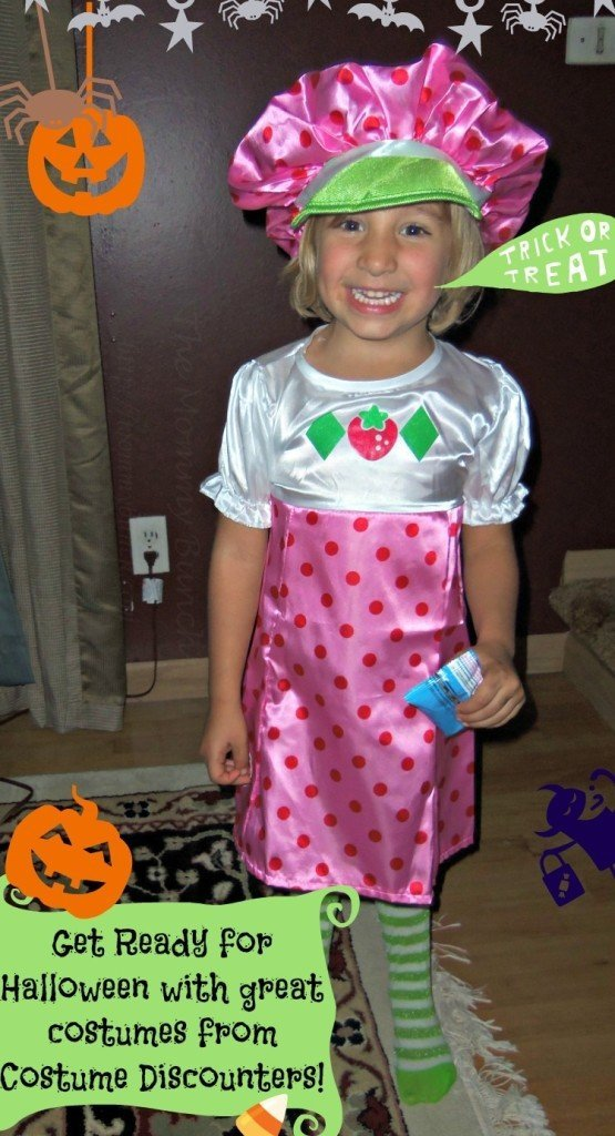 costume discounters  sc 1 st  Mommy Bunch & Get Ready for Halloween with great Strawberry Shortcake costumes and ...