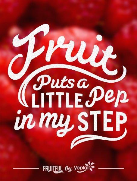 fruitful pep