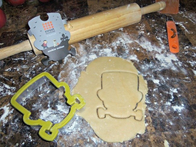 frankenstein cookie cutter