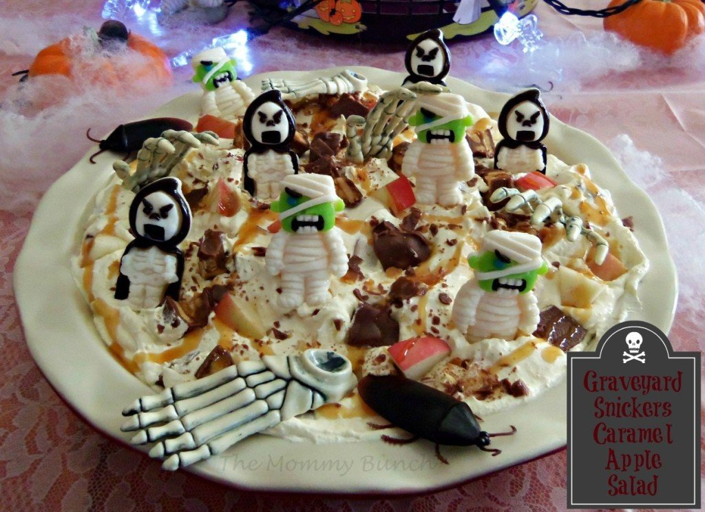 snickers salad dessert recipes for halloween