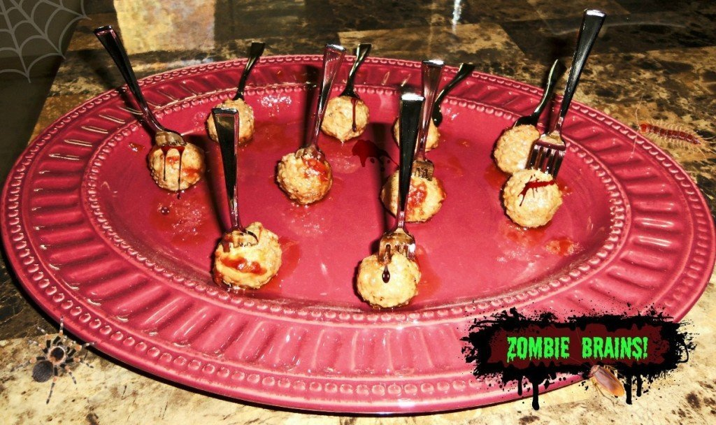 zombie brains Halloween Recipes #shop