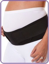 maternity support band black