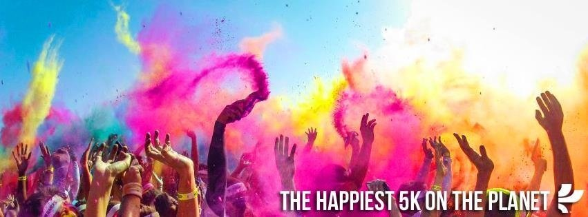happiest 5k the color run
