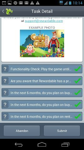 rewardable candy crush
