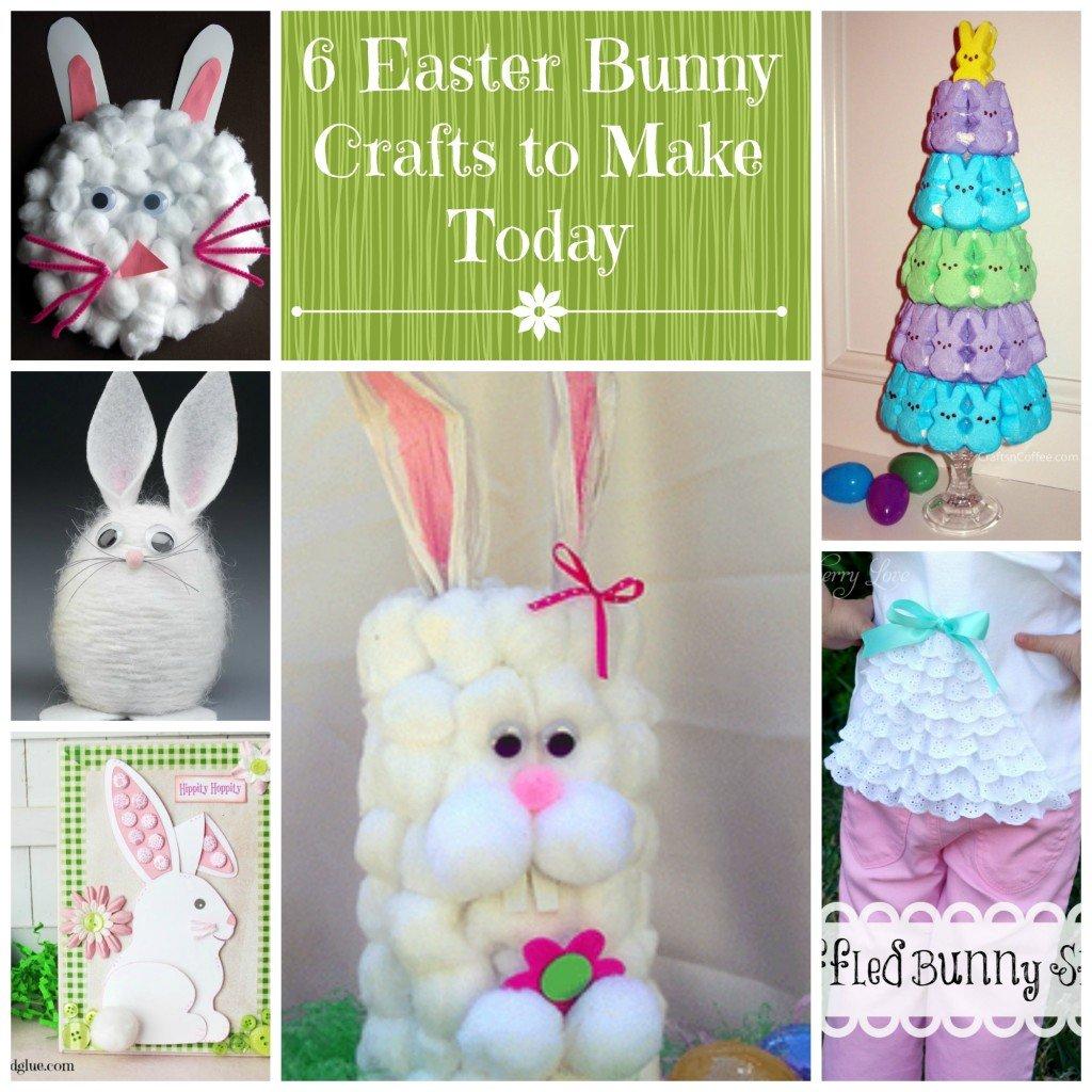 6 Bunny Crafts
