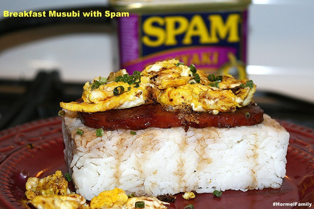 breakfast musubi spam