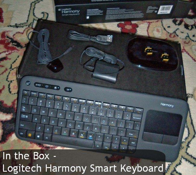 logitech harmoney smart keyboard