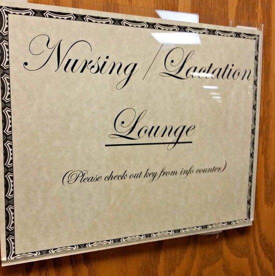 nursing lounge