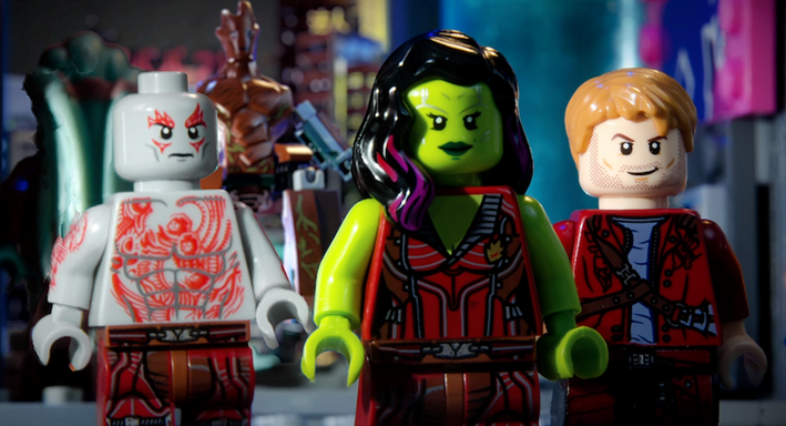 New Guardians of the Galaxy Lego Movie?