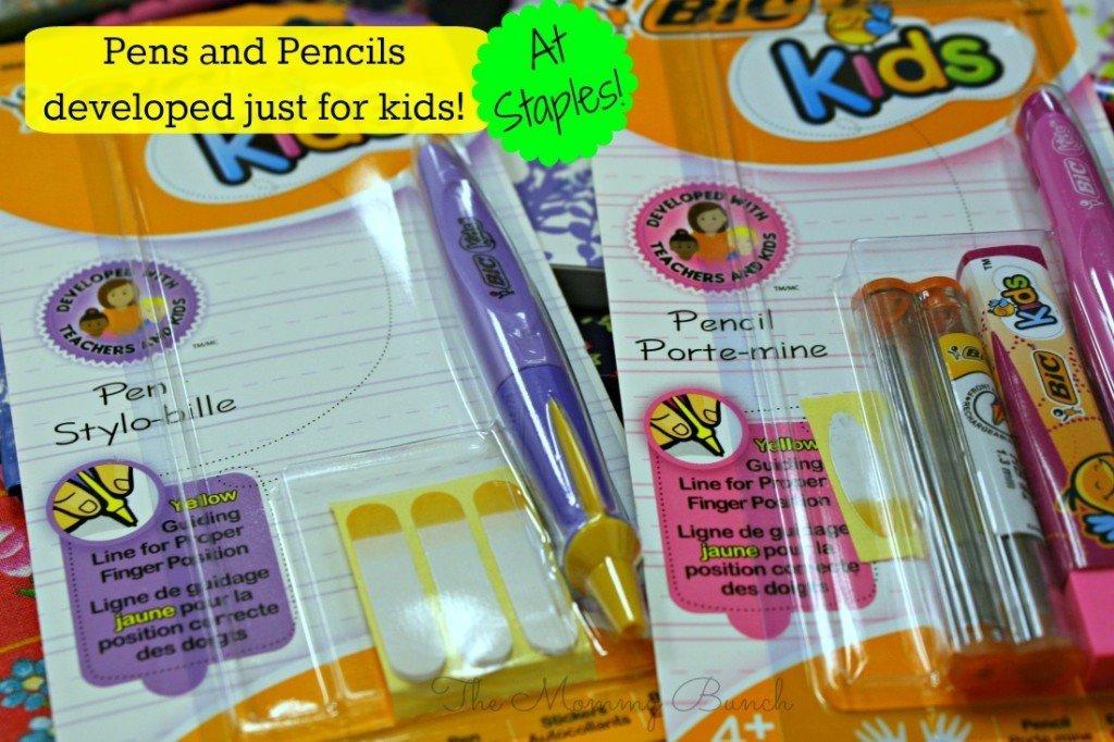 staples kids pens