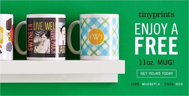 Free coffee mug!