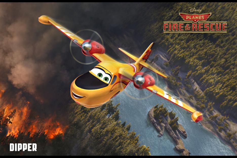 planes - dipper